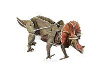 Knobelspiel/Geduldspiel3D Puzzle Dinosaurier mit Motor Triceratops