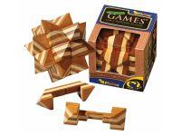Holzknoten Apollo-Puzzle,Bambus