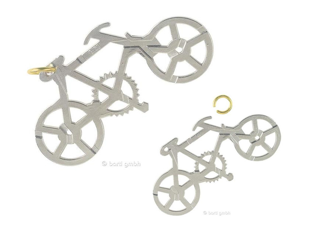 Metall Cast Puzzle Bike