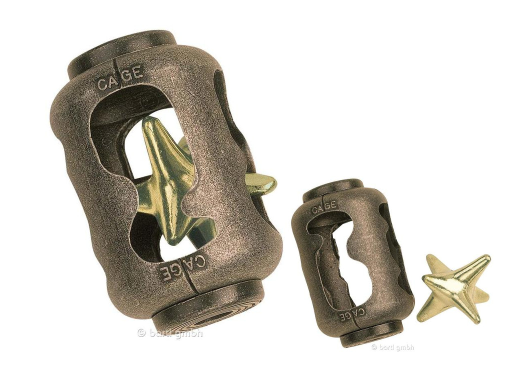 Metall Cast Puzzle Cage