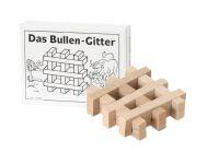 Knobelspiel/GeduldspielMini Puzzle Das Bullengitter