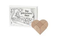 Knobelspiel/GeduldspielMini Puzzle Das gebrochene Herz