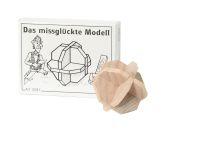 Knobelspiel/GeduldspielMini Puzzle Das mißglückte Modell