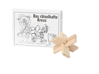Knobelspiel/GeduldspielMini Puzzle Das rätselhafte Kreuz