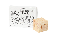 Knobelspiel/GeduldspielMini Puzzle Das Würfel-Puzzle