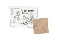 Knobelspiel/GeduldspielMini Puzzle Das zerbrochene Quadrat