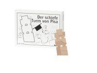 Knobelspiel/GeduldspielMini Puzzle Der schiefe Turm von Pisa