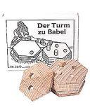 Knobelspiel/GeduldspielMini Puzzle Der Turm zu Babel