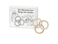 Knobelspiel/GeduldspielMini Puzzle Die Olympischen Ringe der Antike