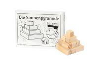 Knobelspiel/GeduldspielMini Puzzle Die Sonnenpyramide