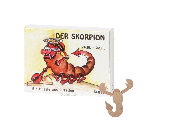 Knobelspiel/GeduldspielSternzeichen Skorpion, Mini Puzzle
