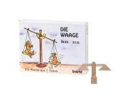 Knobelspiel/GeduldspielSternzeichen Waage, Mini Puzzle