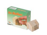 Knobelspiel/GeduldspielTaschenpuzzle Das Blockhaus