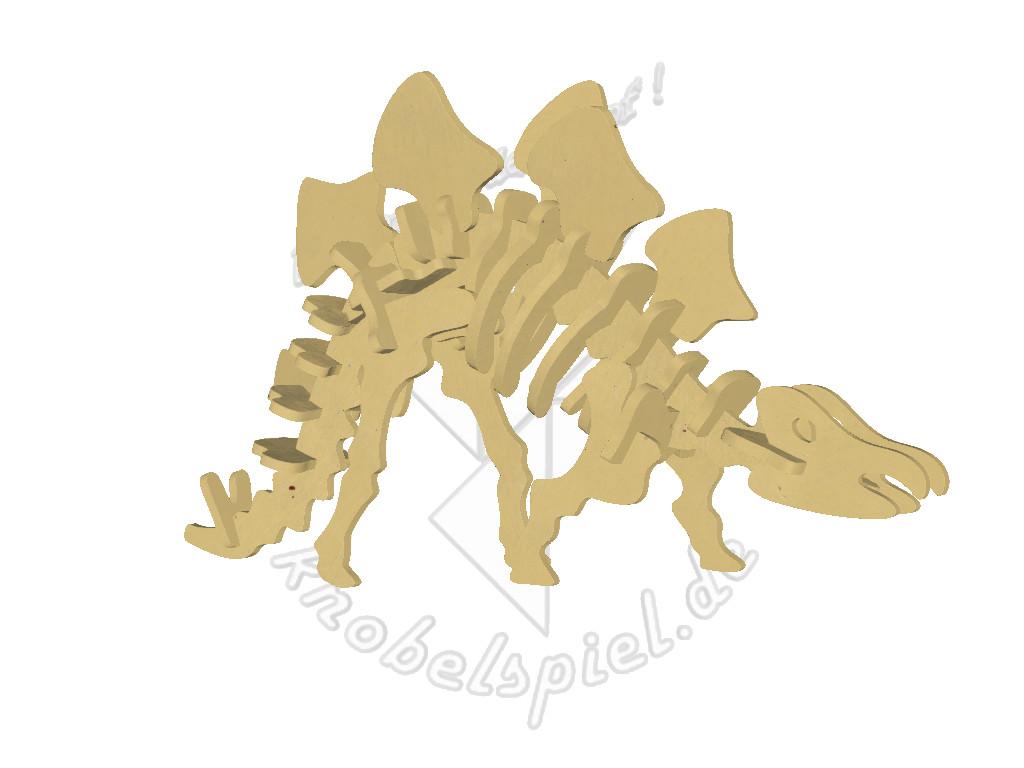 3d Holzpuzzle Dinosaurier Stegosaurus
