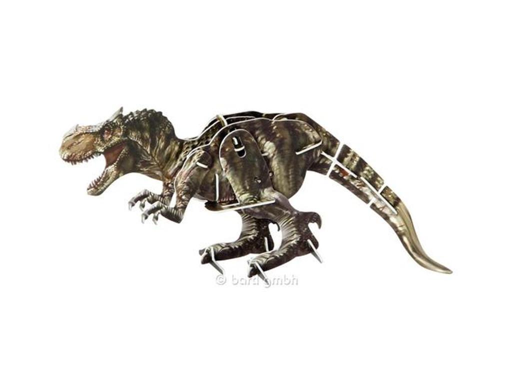 3D Puzzle Dinosaurier mit Motor Tyrannosaurus