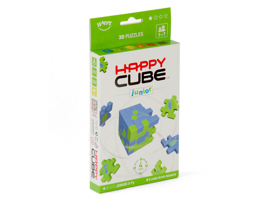 Knobelspiel/Geduldspiel Happy Cube Junior 6er Pack