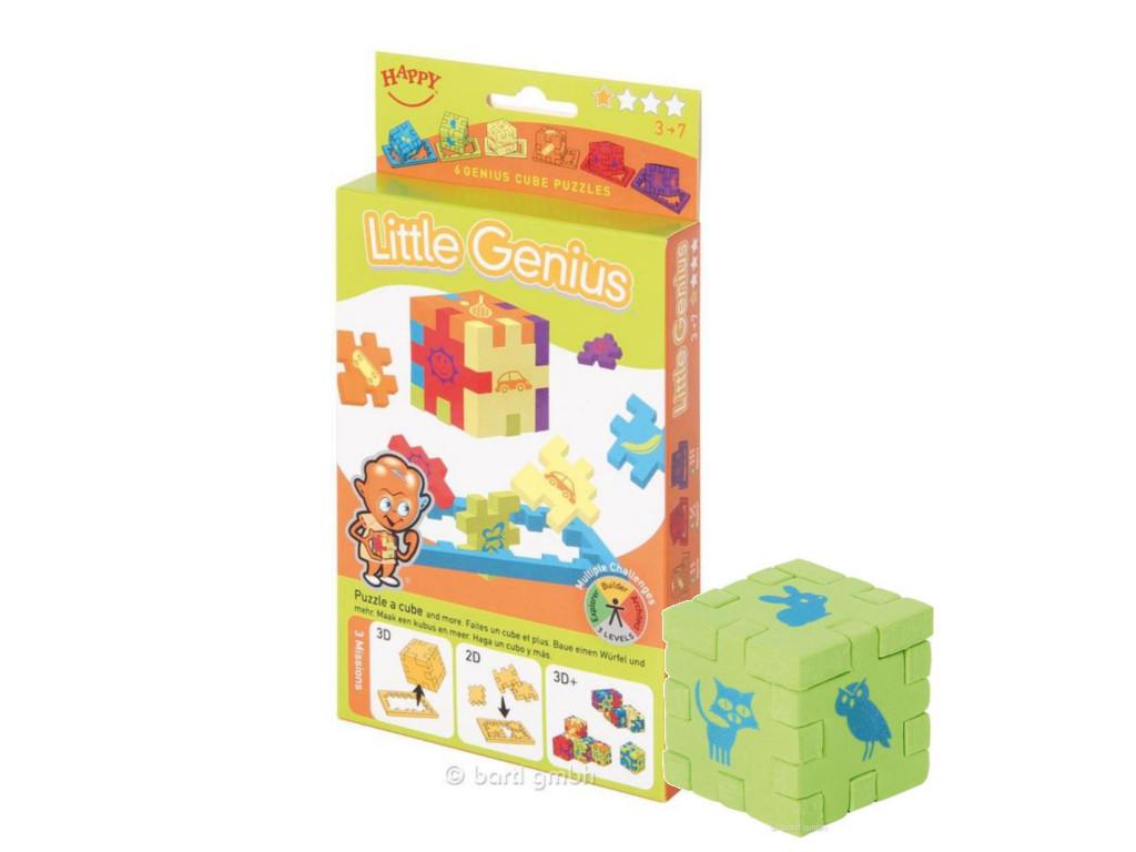 Knobelspiel/GeduldspielHappy Cube Little Genius (6er)