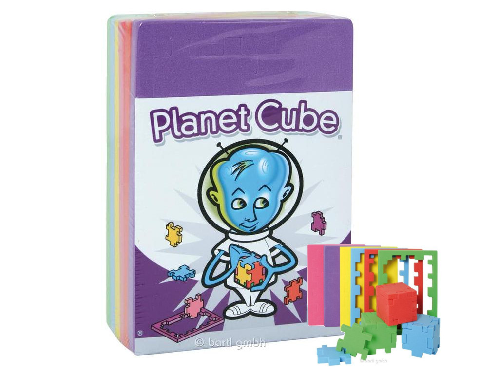 Knobelspiel/Geduldspiel Happy Cube Happy Cube Planet Cube