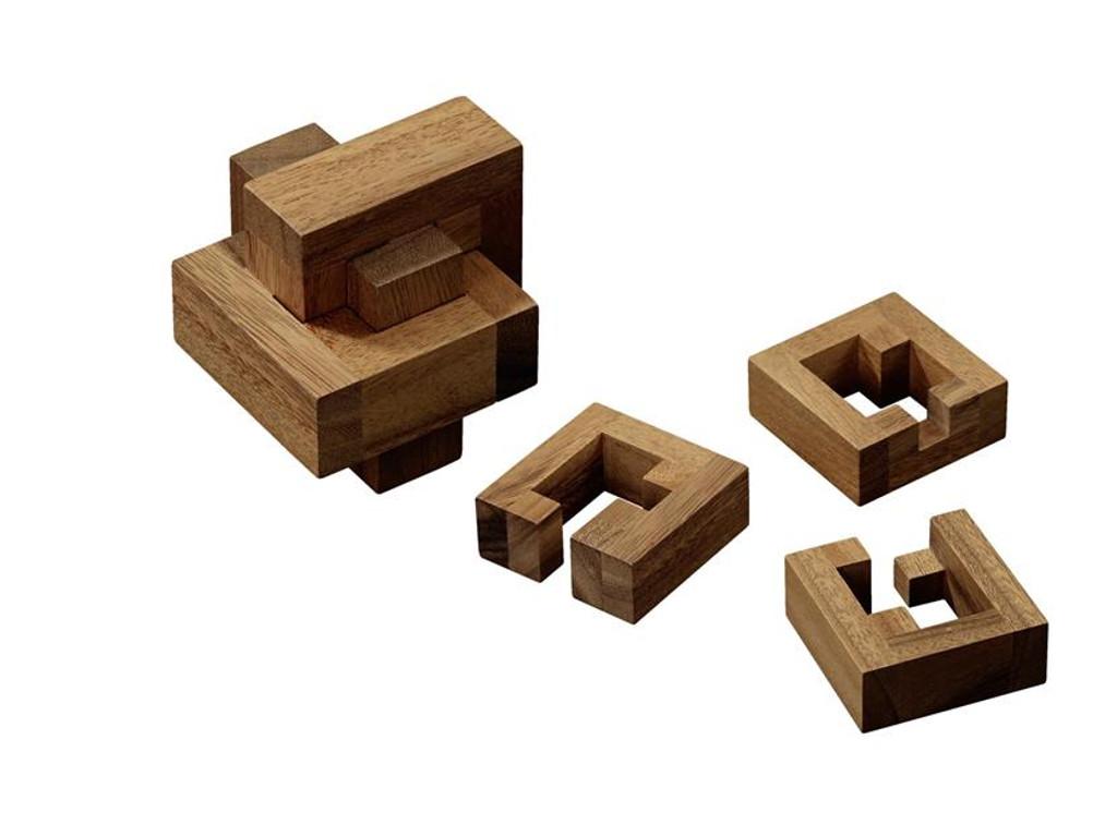 Knobelspiel/GeduldspielHolzknoten Cheer Puzzle