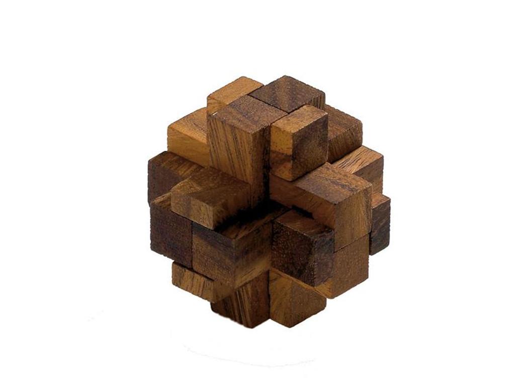 Knobelspiel/GeduldspielHolzknoten Centaurus