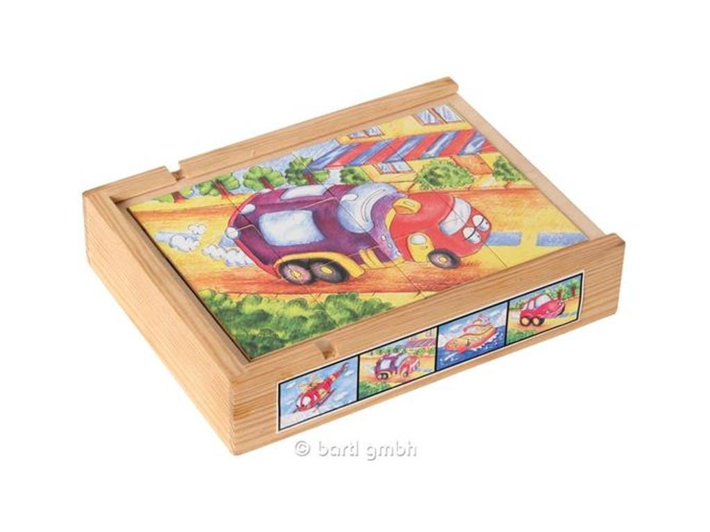 Knobelspiel/GeduldspielKinderpuzzle Magnetpuzzle Set Fahrzeuge