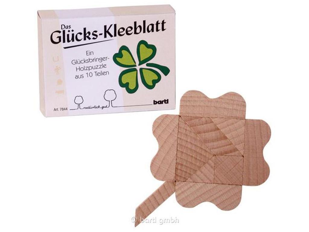 Knobelspiel/GeduldspielLegespiel Der Glücksklee