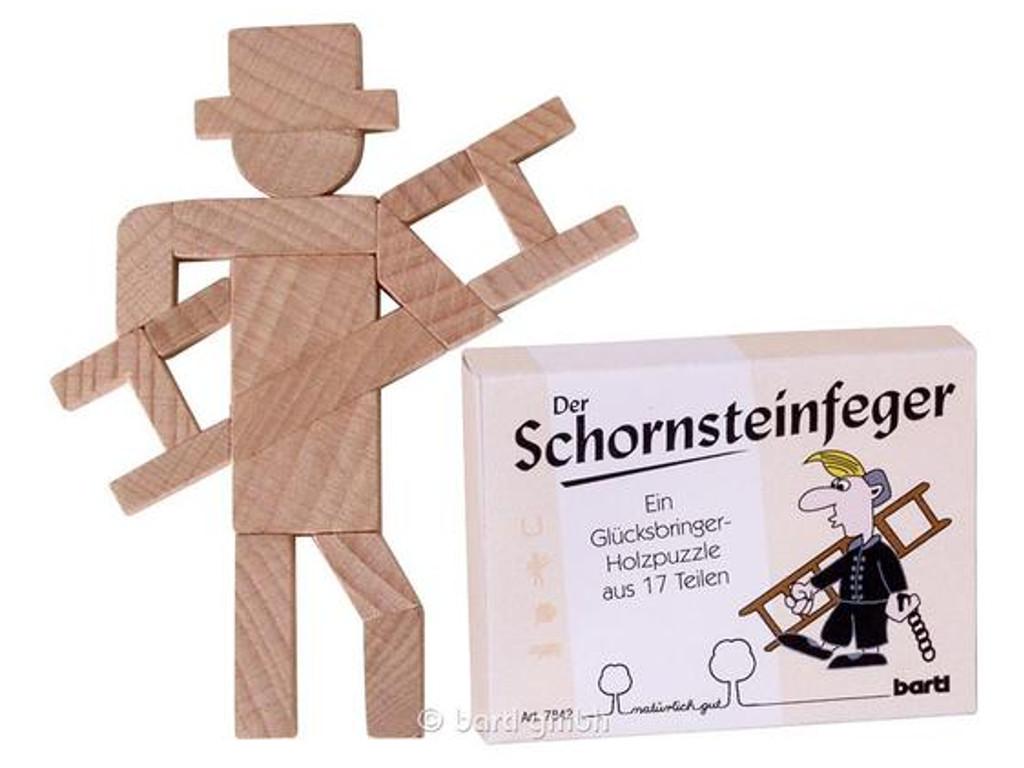 Knobelspiel/GeduldspielLegespiel Der Schornsteinfeger