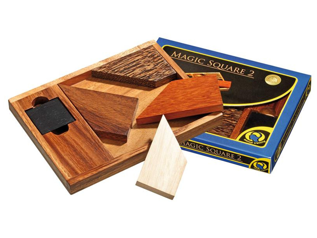 Knobelspiel/Geduldspiel Legespiel Magic Square 2