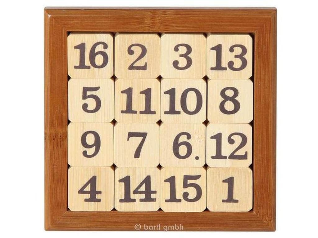 Knobelspiel/GeduldspielLegespiel Magisches Quadrat