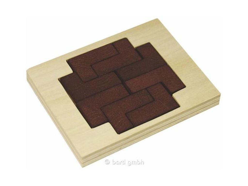 Knobelspiel/GeduldspielLegespiel Reisepuzzle L-Puzzle