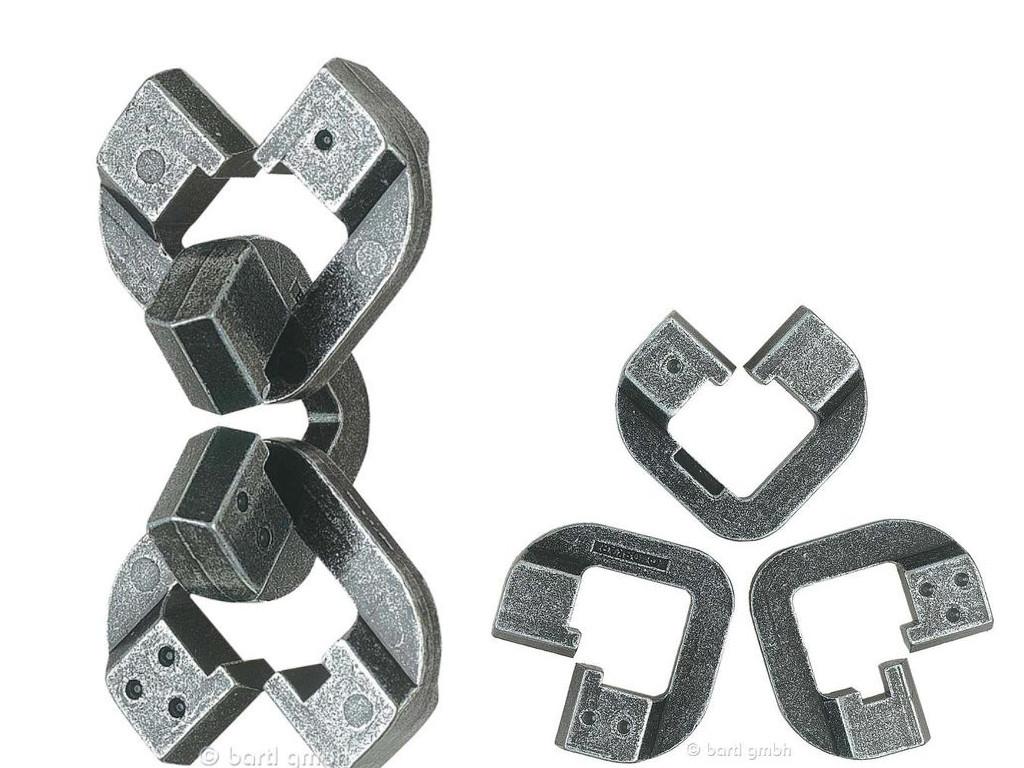 Knobelspiel/GeduldspielHuzzle Cast Puzzle Chain