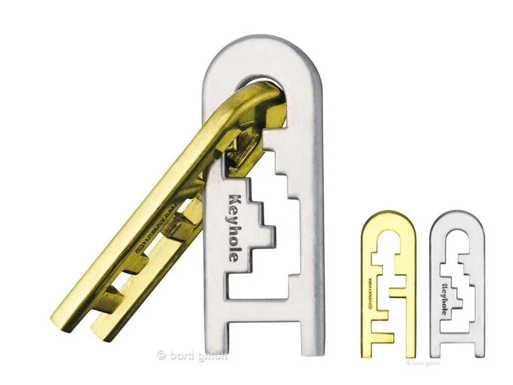 Knobelspiel/GeduldspielHuzzle Cast Puzzle Keyhole