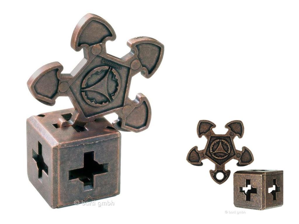 Knobelspiel/GeduldspielHuzzle Cast Puzzle O`Gear