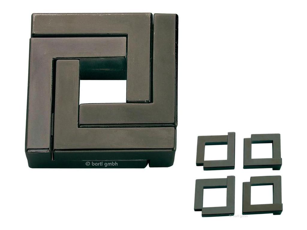 Knobelspiel/GeduldspielHuzzle Cast Puzzle Quartet