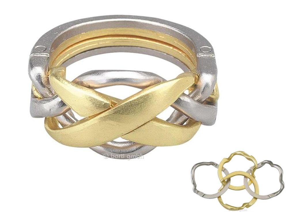 Knobelspiel/GeduldspielHuzzle Cast Puzzle Ring