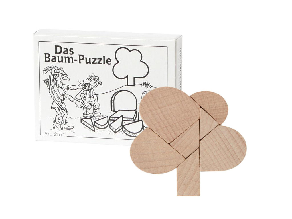 mini puzzle das baum puzzle. Black Bedroom Furniture Sets. Home Design Ideas