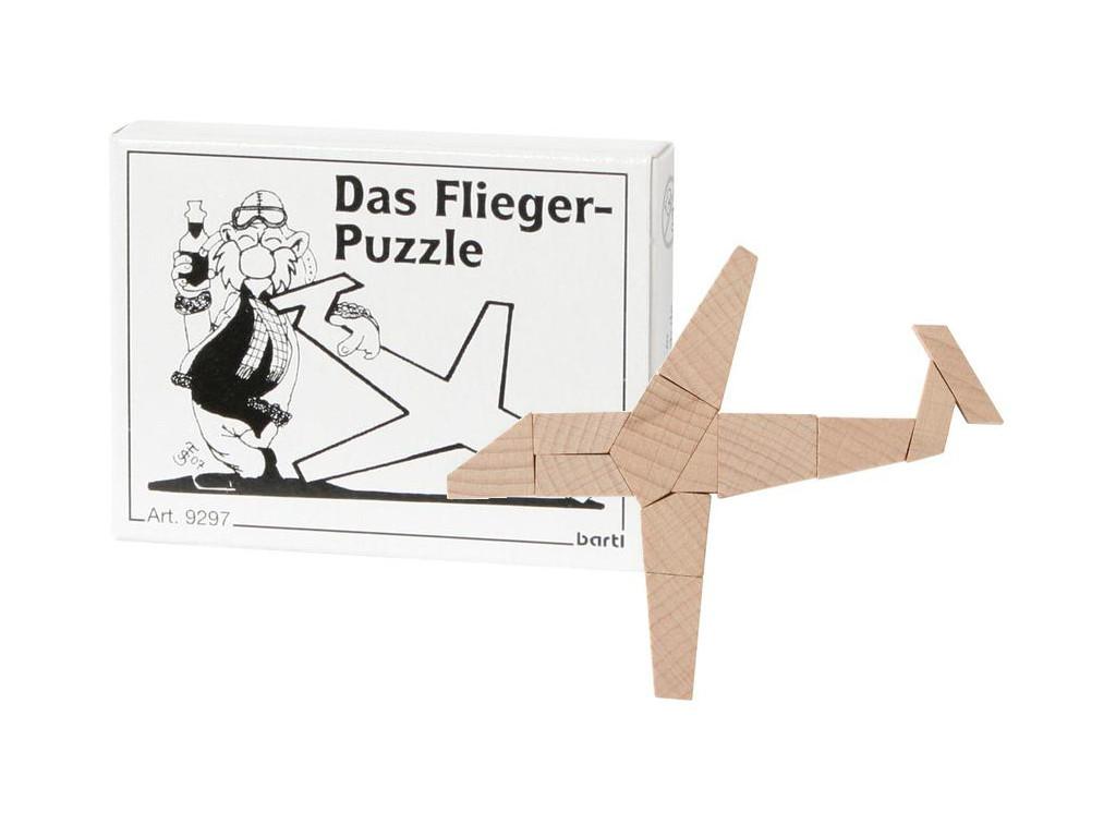 Knobelspiel/GeduldspielMini Puzzle Das Flieger-Puzzle