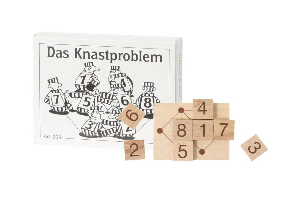 Knobelspiel/GeduldspielMini Puzzle Das Knastproblem