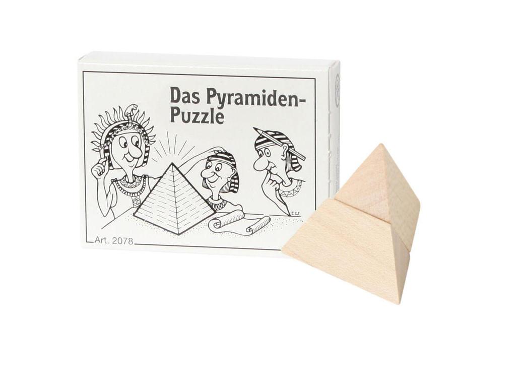 Mini Puzzle Das Pyramiden-Puzzle