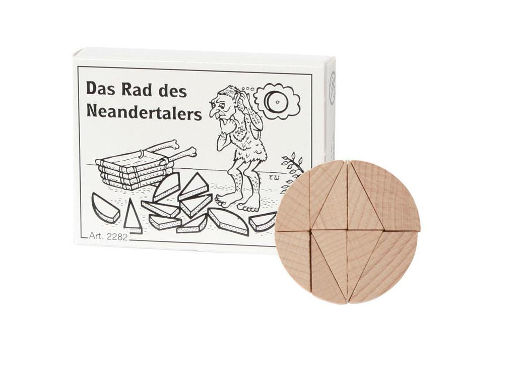 Knobelspiel/GeduldspielMini Puzzle Das Rad des Neandertalers