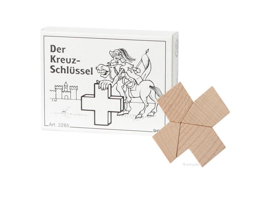 Knobelspiel/GeduldspielMini Puzzle Der Kreuz-Schlüssel