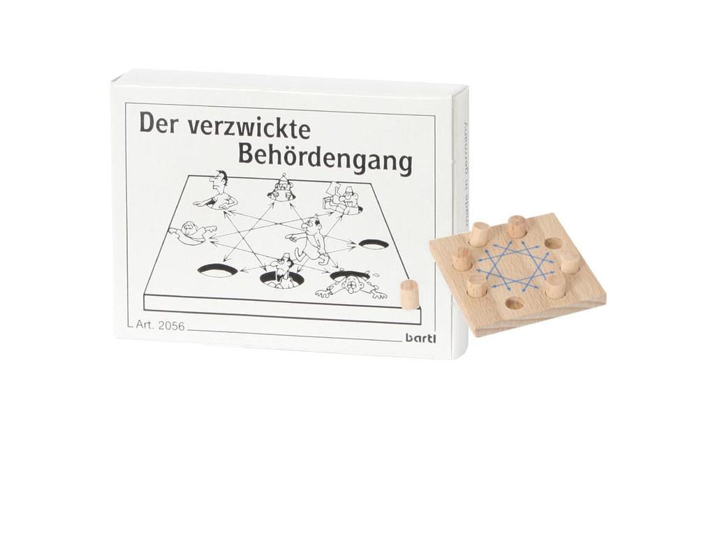 Knobelspiel/GeduldspielMini Puzzle Der verzwickte Behördengang