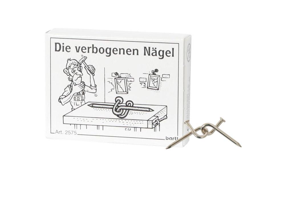 Knobelspiel/GeduldspielMini Puzzle Die verbogenen Nägel