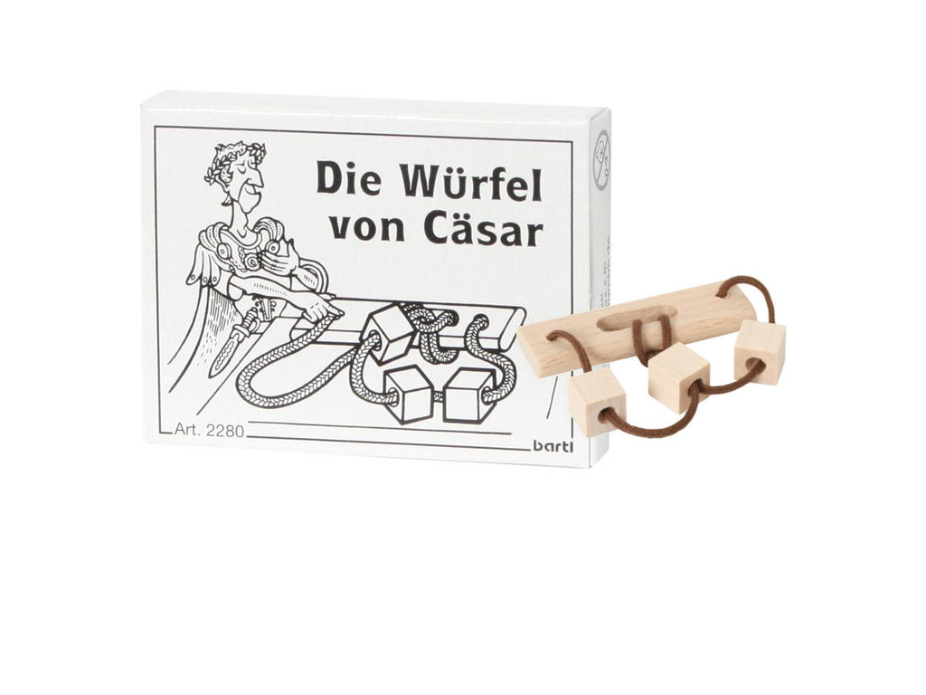 Knobelspiel/GeduldspielMini Puzzle Die Würfel von Cäsar
