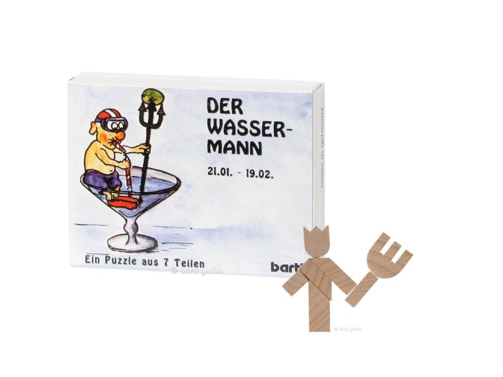 Knobelspiel/GeduldspielSternzeichen Wassermann, Mini Puzzle