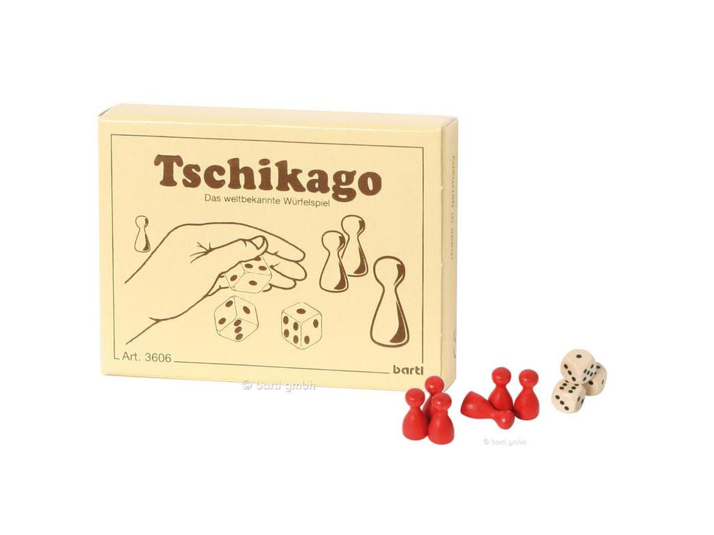 Knobelspiel/GeduldspielMini Spiel Tschikago