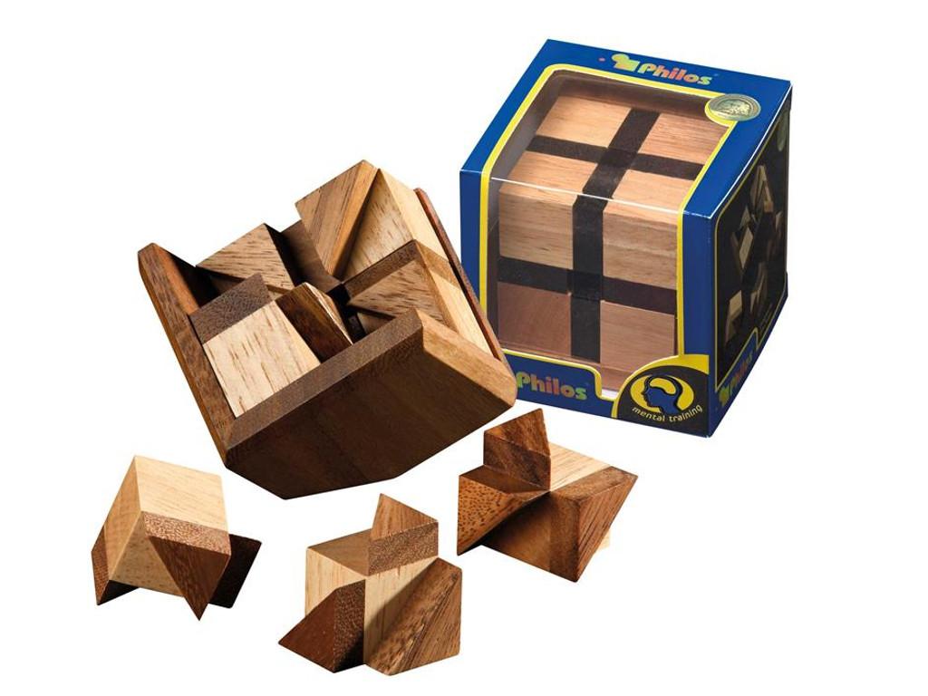 Knobelspiel/GeduldspielPackwürfel Bermuda Cube
