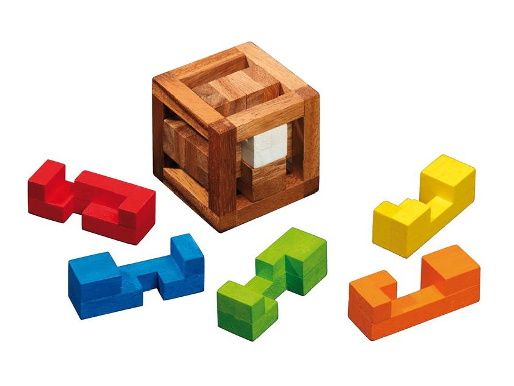 Knobelspiel/GeduldspielPackwürfel Caged Burr