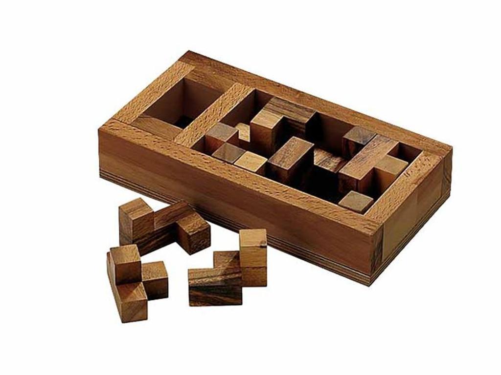 Knobelspiel/GeduldspielPackwürfel Das Grab der Pentacuben