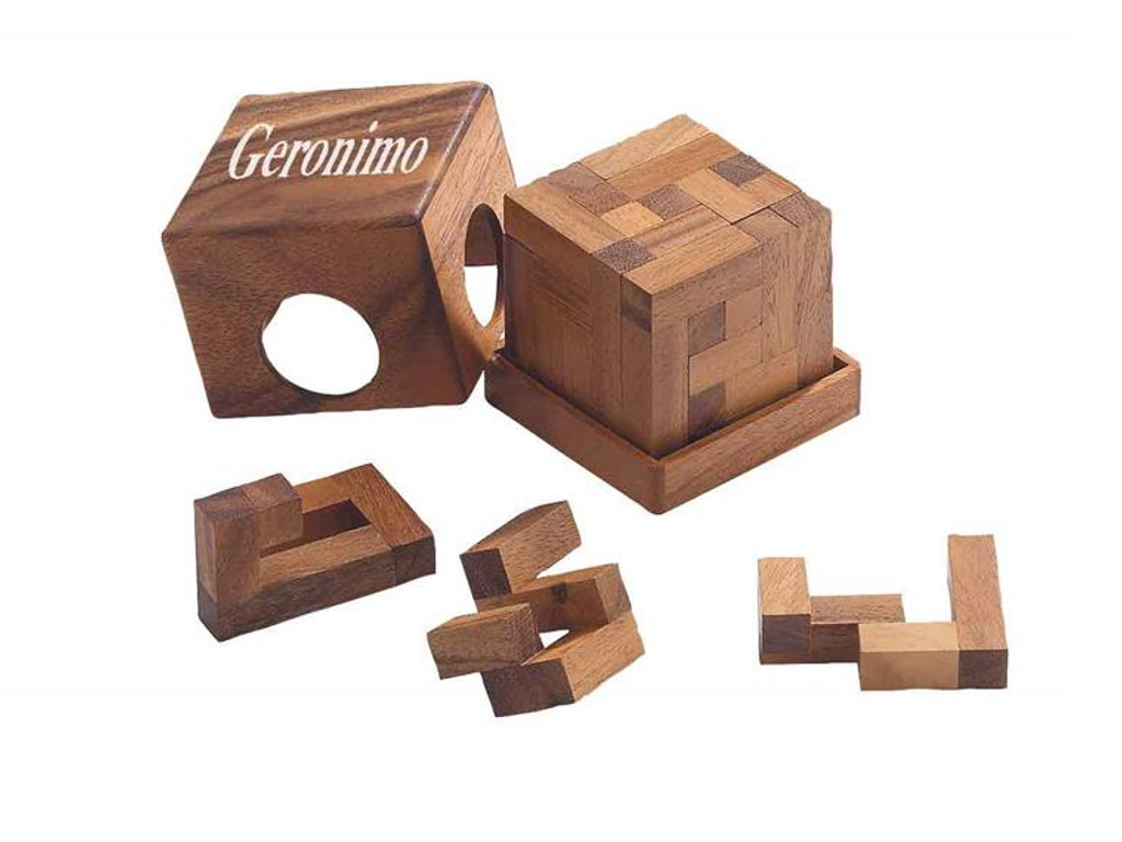 Knobelspiel/GeduldspielPackwürfel Geronimo